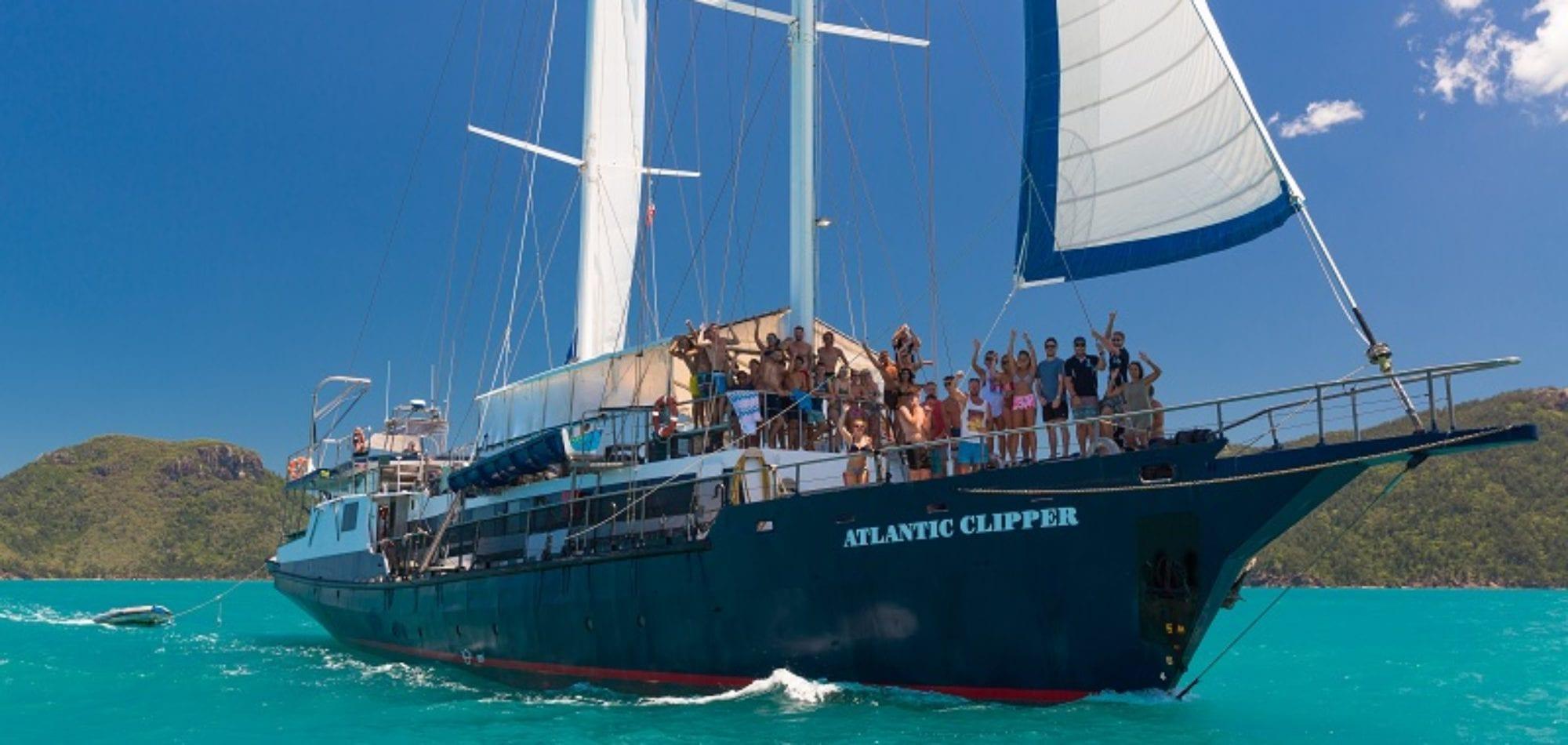 Atlantic Clipper sailing