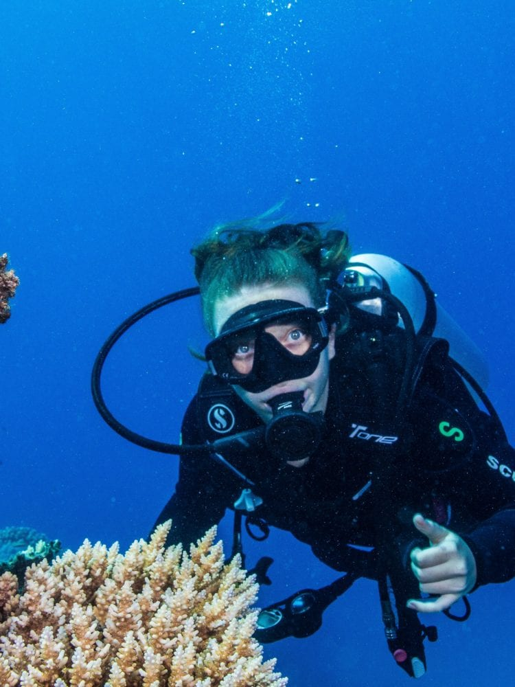 Cairns scuba diving day tour - Diver - Great Barrier Reef