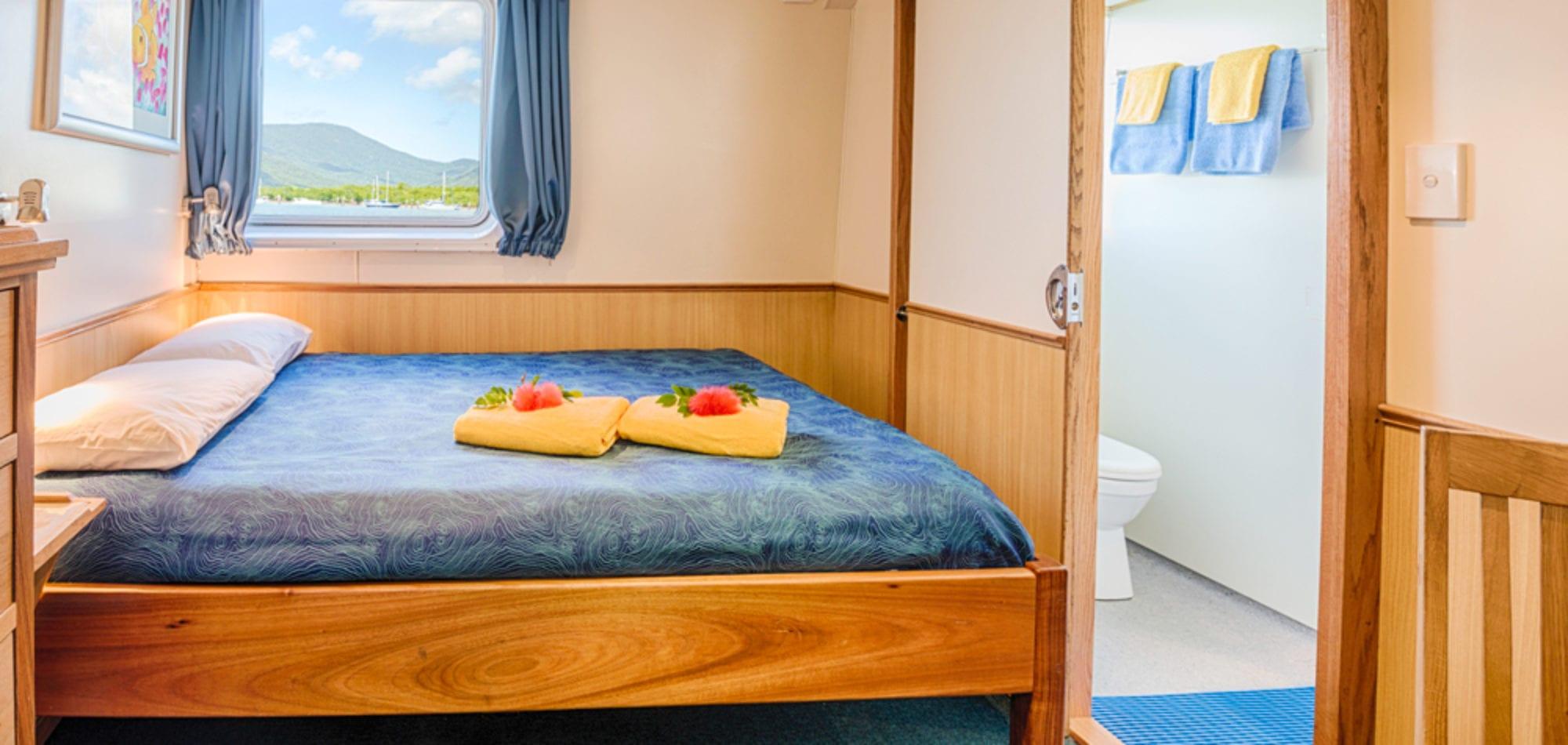 Mike Ball scuba dive holiday - premium cabin