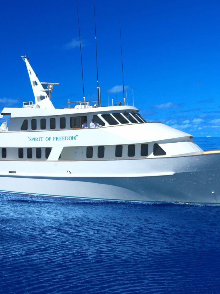 Spirit of Freedom dive boat - Great Barrier Reef