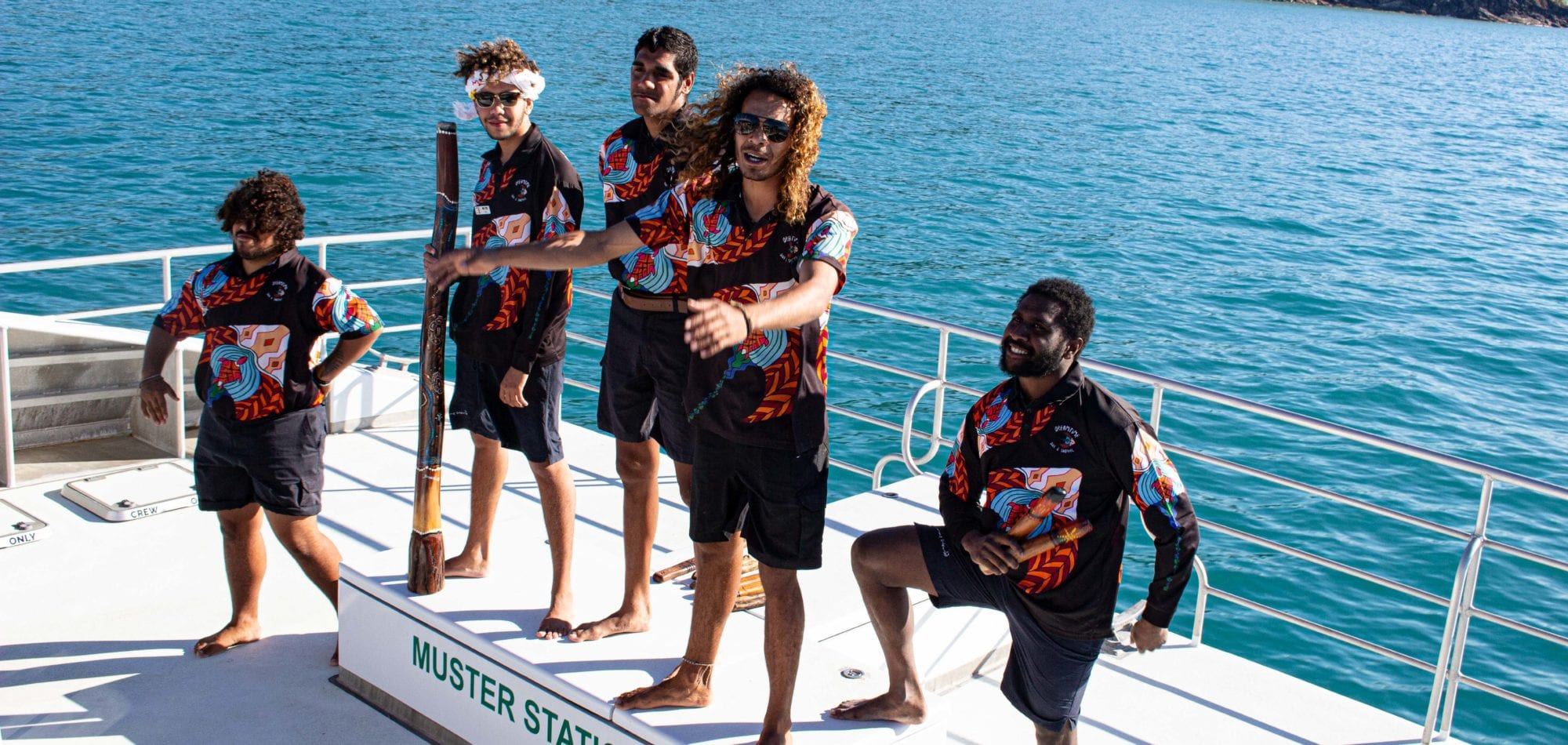 Cairns scuba diving day trip - Dreamtime Dive and Snorkel reef rangers (crew)