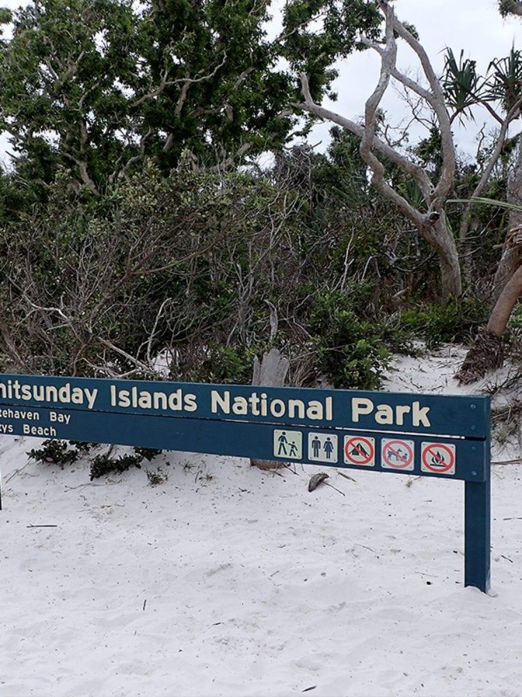 Whitsunday Islands - Whitehaven Bay, Betty's Beach