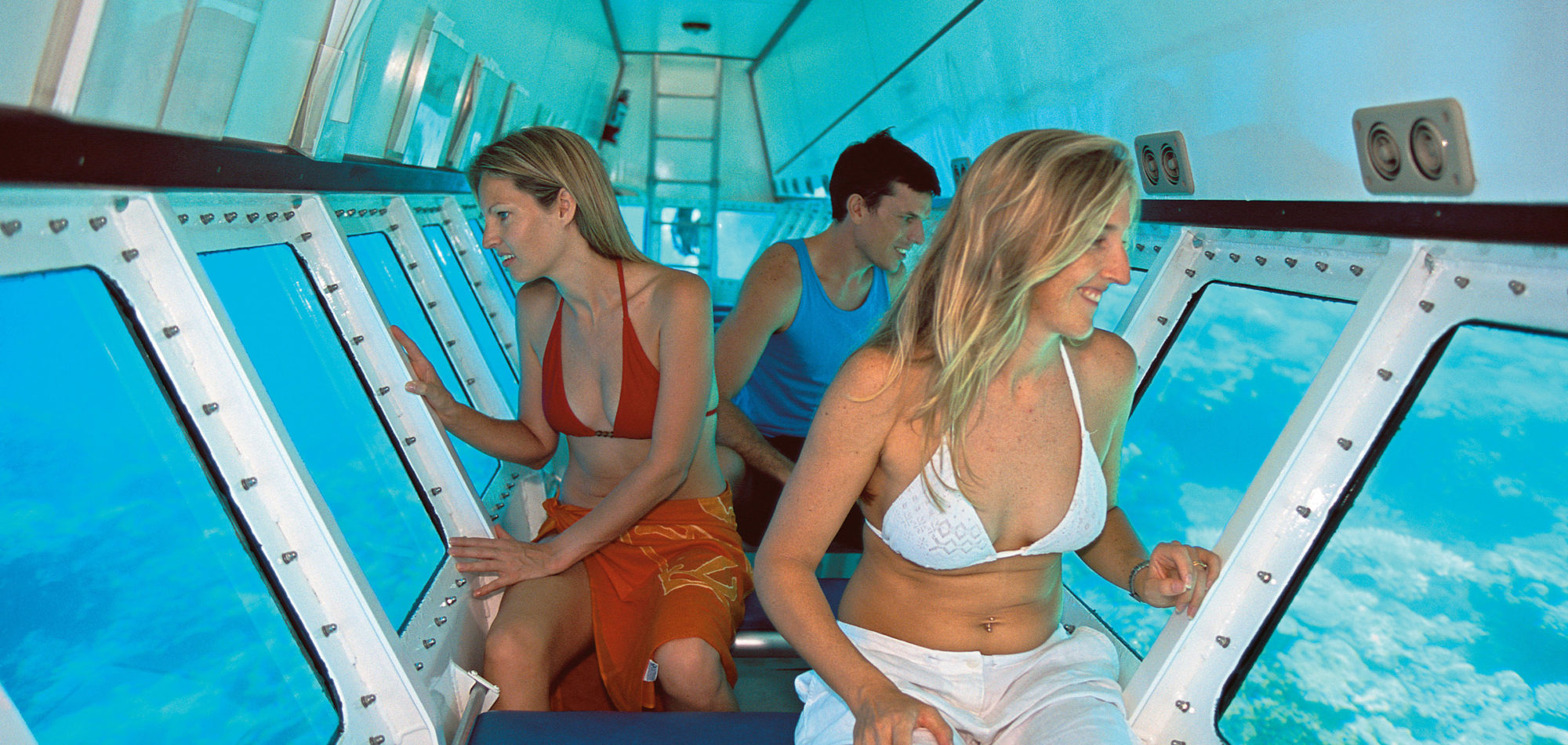 Semi Submersible - Quicksilver Cruises, Great Barrier Reef