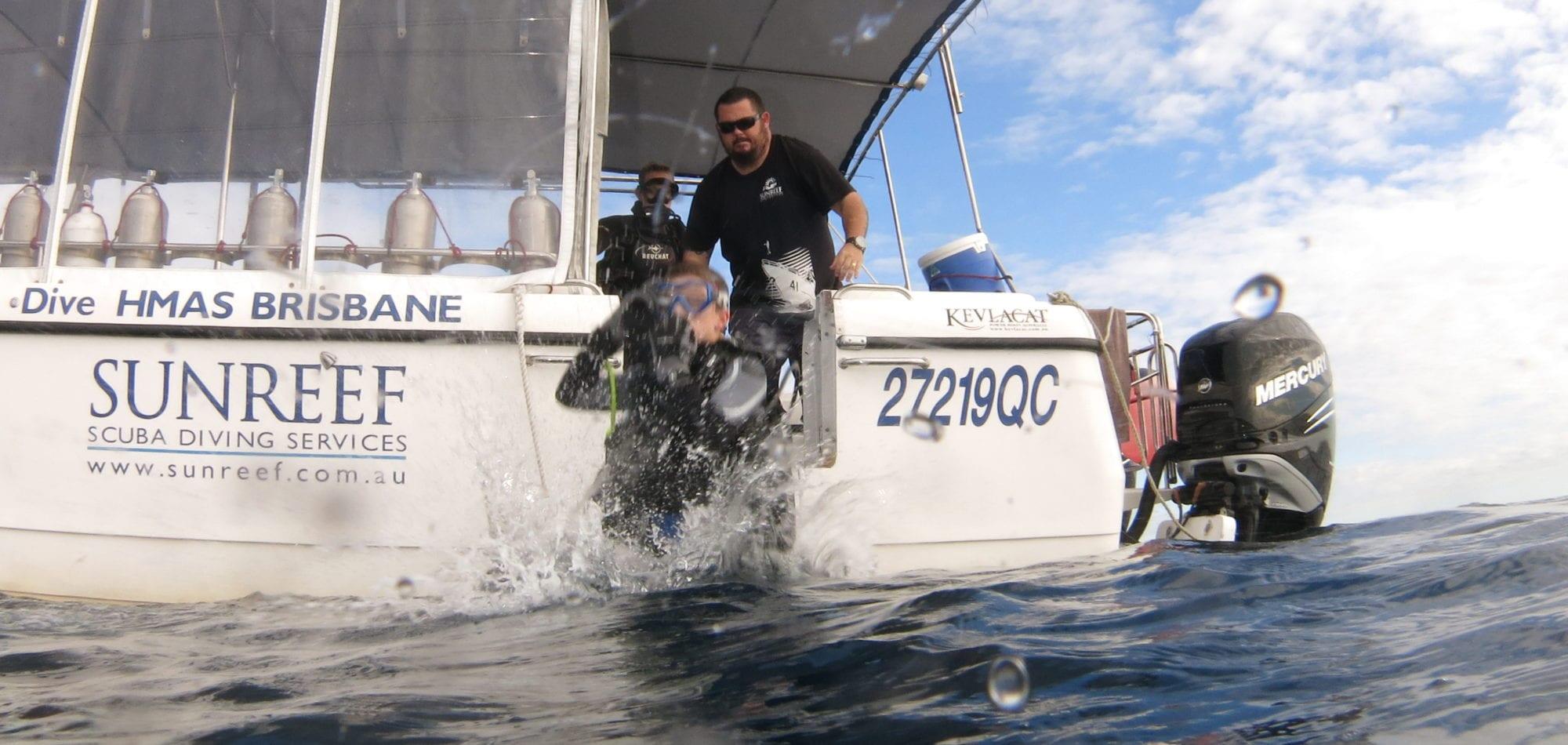 HMAS Brisbane Shipwreck