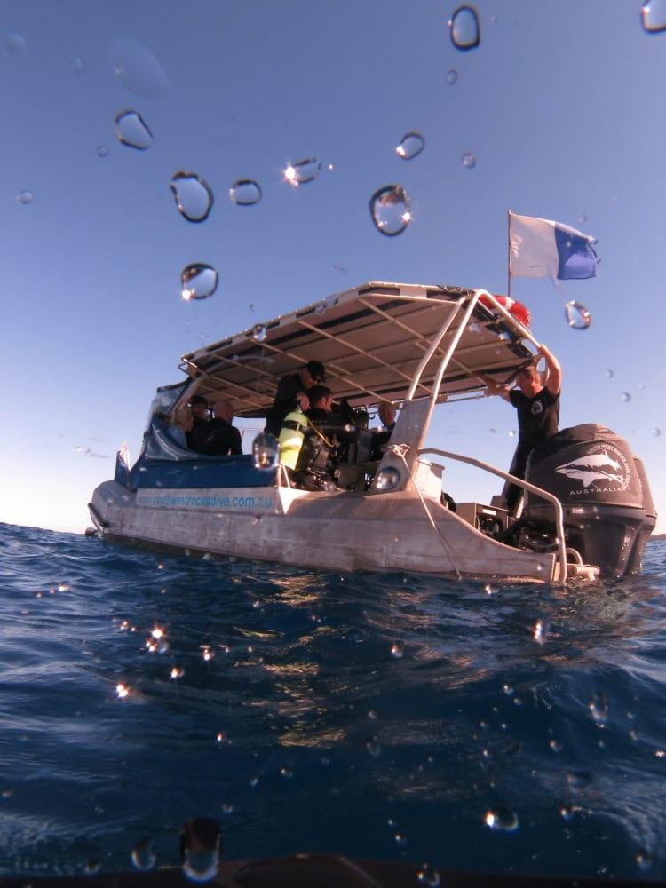 South West Rocks Dive Boat
